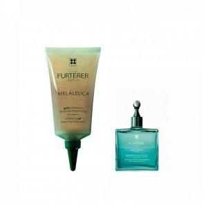 PROMOTIONAL PACK: René Furterer Melaleuca Exfoliating Gel 75ml + Astera Fresh 3ml