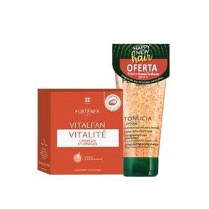 PROMOTIONAL PACK: René Furterer Vitalfan Vitality x30 + Tonucia Shampoo 50ml