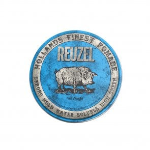 Reuzel Blue Pomade Strong Hold Water Soluble High Sheen 340g