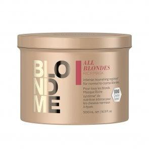 Schwarzkopf BLONDME All Blondes Rich Mask 500ml