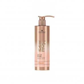 Schwarzkopf BLONDME Blush Wash Sulfate-Free Apricot Shampoo 250ml