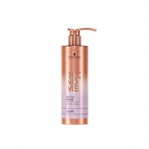 Schwarzkopf BLONDME Blush Wash Sulfate-Free Lilac Shampoo 250ml