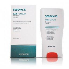 Sesderma Sebovalis Shampoo de Tratamento Seborreia 200ml