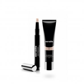 PROMOTIONAL PACK: Sensilis Basic 2 Steps Neverending Make Up Foundation 02 Noix + Concealer