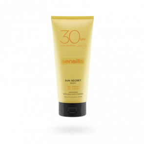 Sensilis Sun Secret Body Gel Cream SPF30 200ml