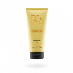Sensilis Sun Secret Body Gel Cream SPF50+ 200ml