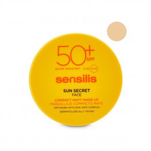 Sensilis Sun Secret Compact Foundation SPF50+ 02 Golden 10g