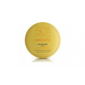 Sensilis Sun Secret Compact Foundation SPF50+ Golden