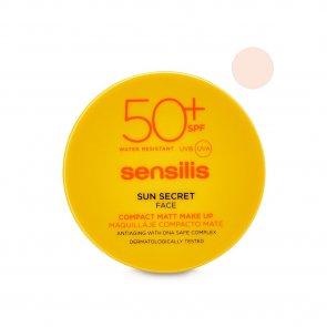Sensilis Sun Secret Compact Foundation SPF50+ 01 Natural 10g