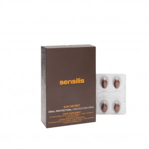 Sensilis Sun Secret Oral Bronzing Protection 30caps