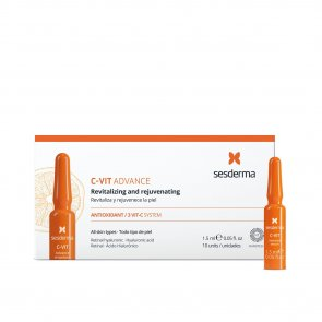 Sesderma C-Vit Advance Revitalizing & Rejuvenating Ampoules 10x1.5ml