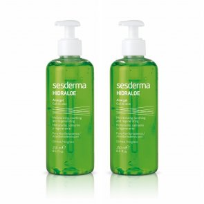 PROMOTIONAL PACK: Sesderma Hidraloe Aloe Gel Face & Body 250ml x2