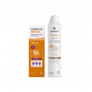 PROMOTIONAL PACK: Sesderma Repaskin Invisible Fluid SPF50 50ml + Lotion Spray SPF50+ 200ml