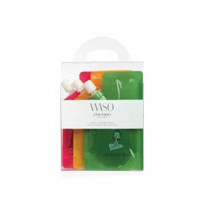 GIFT SET: Shiseido WASO Reset Cleanser Squad 70mlx3