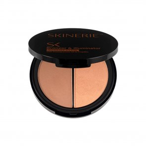 Skinerie Face Bronzer & Illuminator Deep Tan 8g