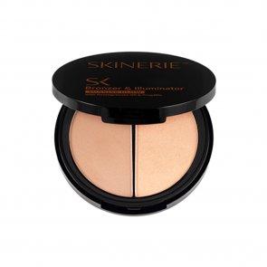 Skinerie Face Bronzer & Illuminator Light Tan 8g