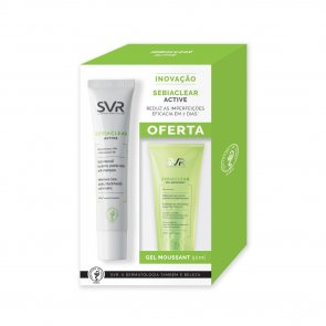 PROMOTIONAL PACK: SVR Sebiaclear Active 40ml + Cleansing Gel 50ml