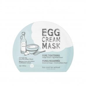 Too Cool For School Egg Cream Pore Tightening Mask 28g
