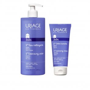 PROMOTIONAL PACK: Uriage Baby 1st Cleansing Water 1L + 1st Cleansing Cream 200ml