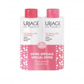 PROMOTIONAL PACK: Uriage Thermal Micellar Water Sensitive Skin 500ml x2