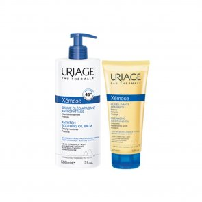 PACK PROMOCIONAL: Uriage Xémose Anti-Itch Soothing Oil Balm 500ml + Cleansing Oil 200ml