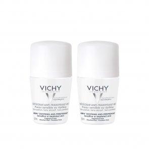 PACK PROMOCIONAL: Vichy Anti-Perspirant Deodorant Sensitive/Depilated Skin 48h 50ml x2