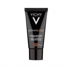Vichy Dermablend Fluid Corrective Foundation 16h 75 Espresso 30ml