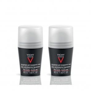 PROMOTIONAL PACK: Vichy Homme Anti-Perspirant Soothing Deodorant 48h 50mlx2
