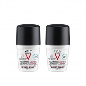 PROMOTIONAL PACK: Vichy Homme Deodorant Anti-Perspirant Anti-Stains 48h 50mlx2