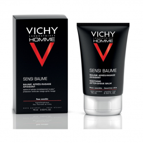 Vichy Homme Sensi-Baume Soothing After-Shave Balm 75ml
