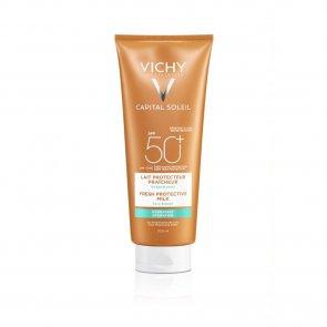 Vichy Idéal Soleil Leite de Corpo Fresco Hidratante FPS50 300ml