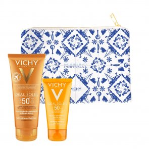 GIFT SET: Vichy Ideal Soleil Portugal Travel Pouch