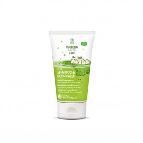 Weleda Kids 2-in-1 Shampoo & Body Wash Lively Lime 150ml