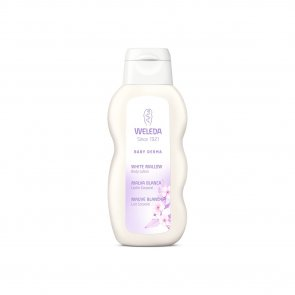 Weleda White Mallow Baby Derma Body Lotion Fragrance-Free 200ml