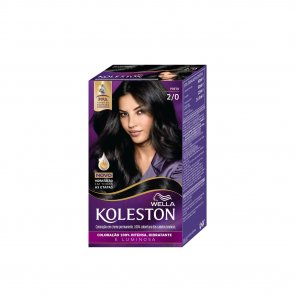 Wella Koleston 2/0 Black Permanent Hair Color