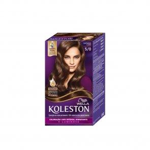 Wella Koleston 5/0 Light Brown Permanent Hair Color
