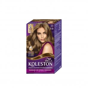 Wella Koleston 7/0 Medium Blonde Permanent Hair Color
