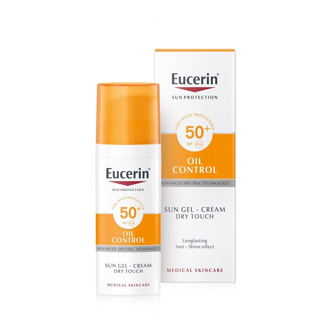 Buy Eucerin Sun Gel Cream Oil Control Spf50 50ml World Wide