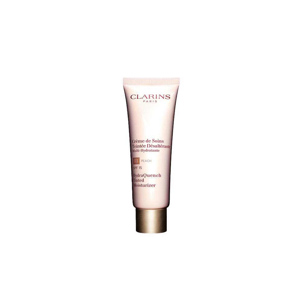 Clarins HydraQuench Tinted Moisturizer SPF15 03 Peach 50ml