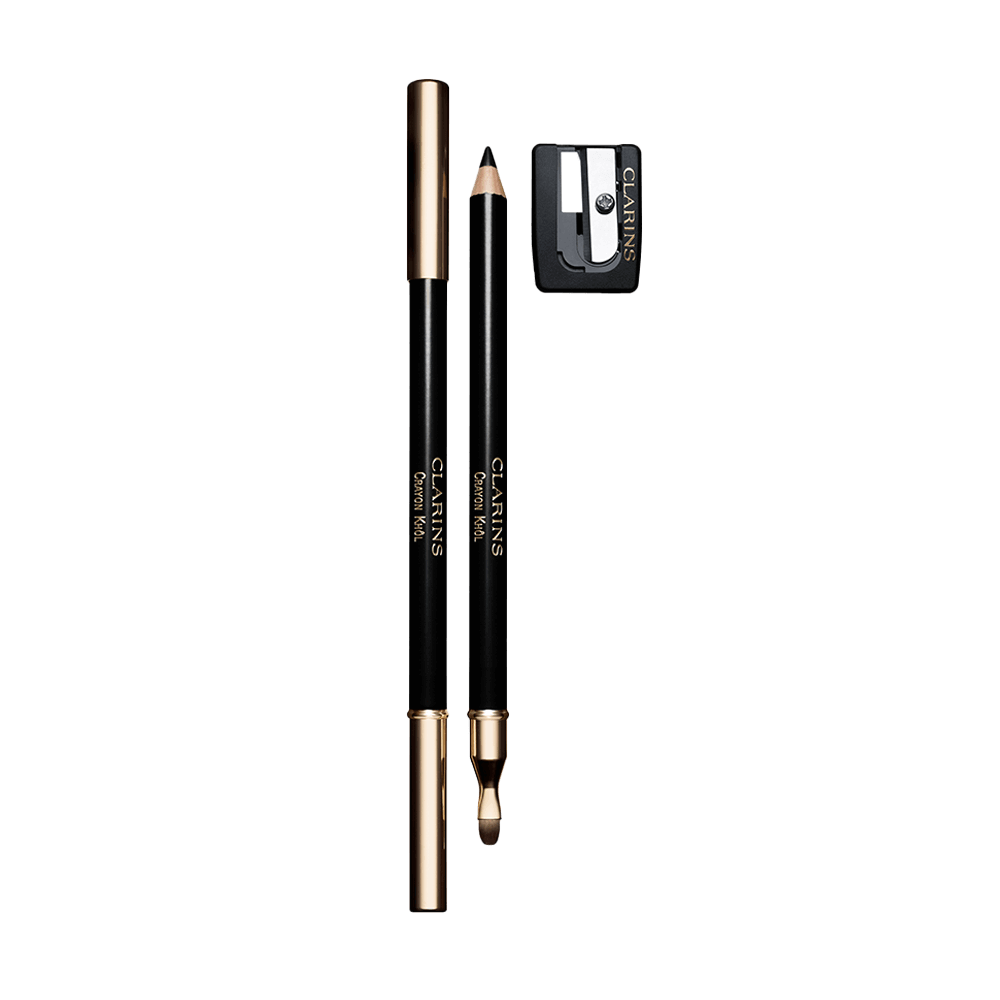 Clarins Crayon Khôl Long-Lasting Eye Pencil 01 Carbon Black 1.05g