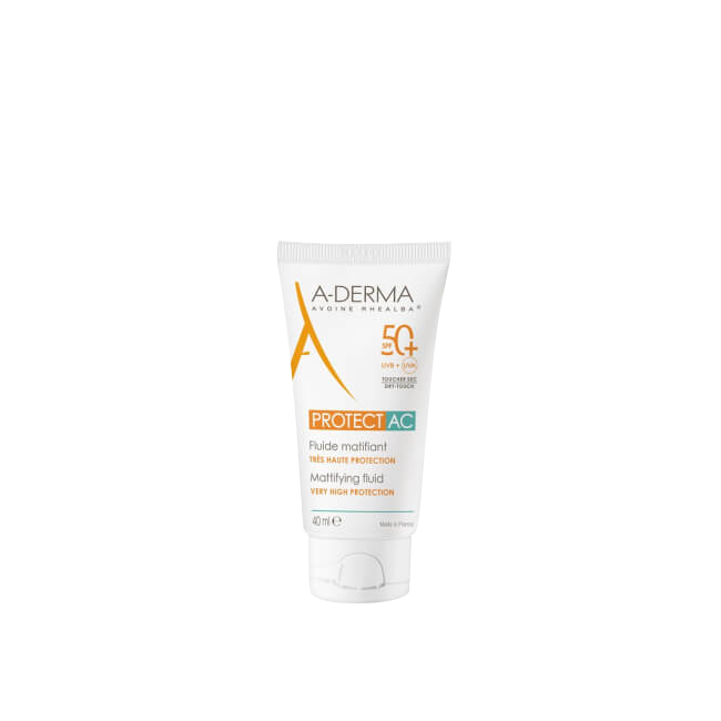 A-Derma Protect AC Mattifying Fluid SPF50+ 40ml