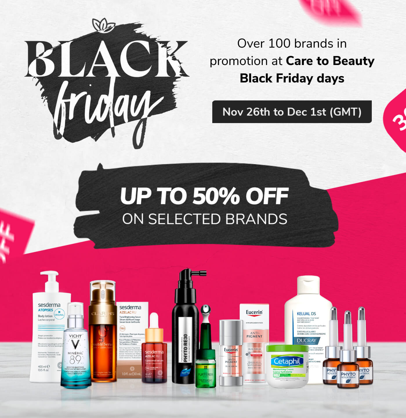 Black Friday - UP TO 50%OFF on selected brands
