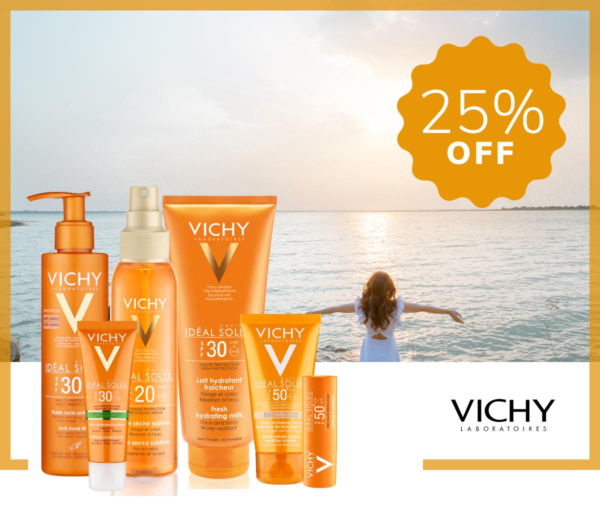 Vichy Sunscreens