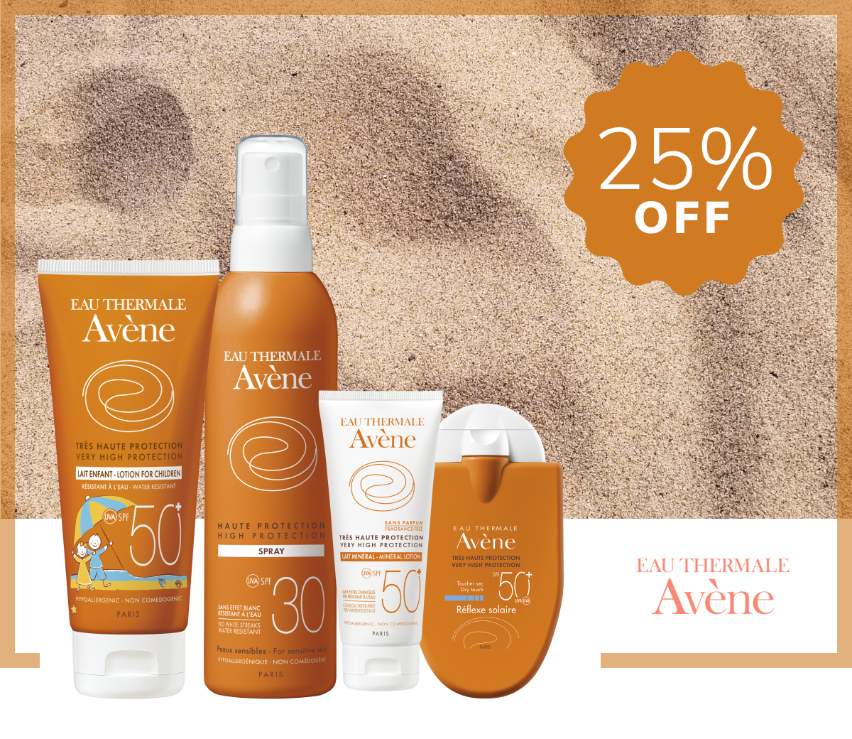 Avène Sunscreens