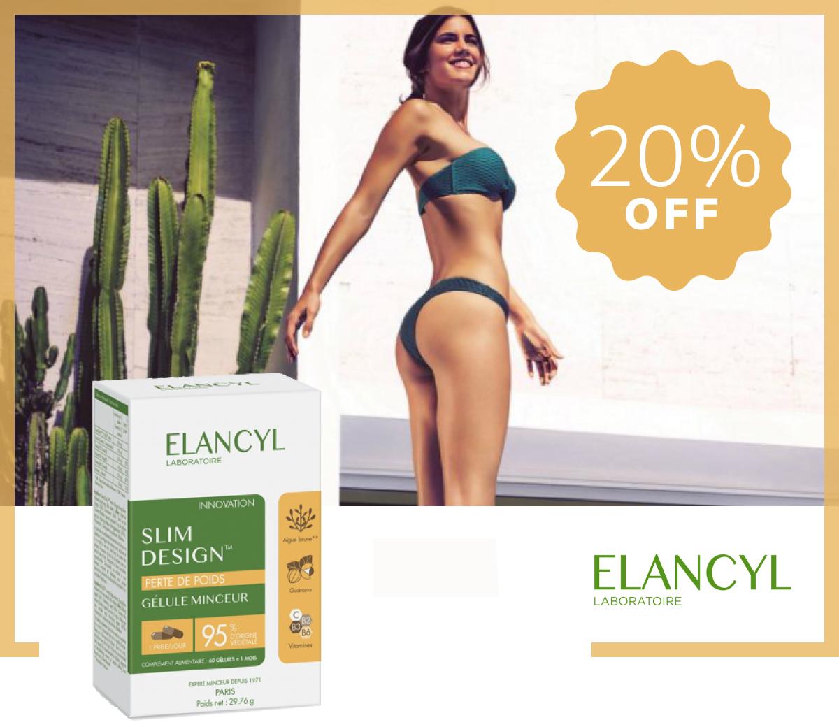 Elancyl Slim Design Slimming Capsules x60