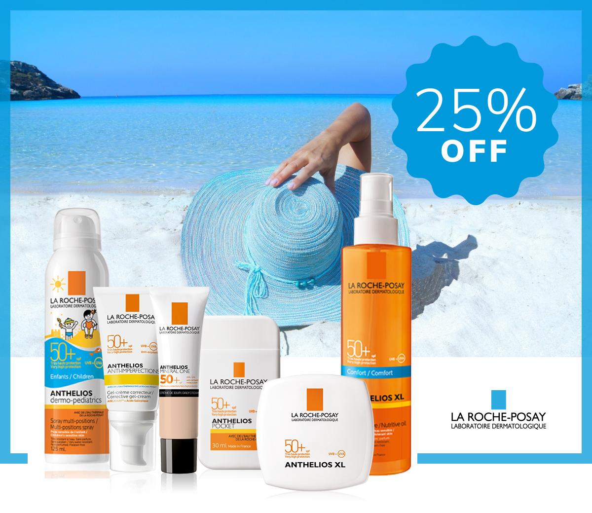 La Roche-Posay Sunscreens
