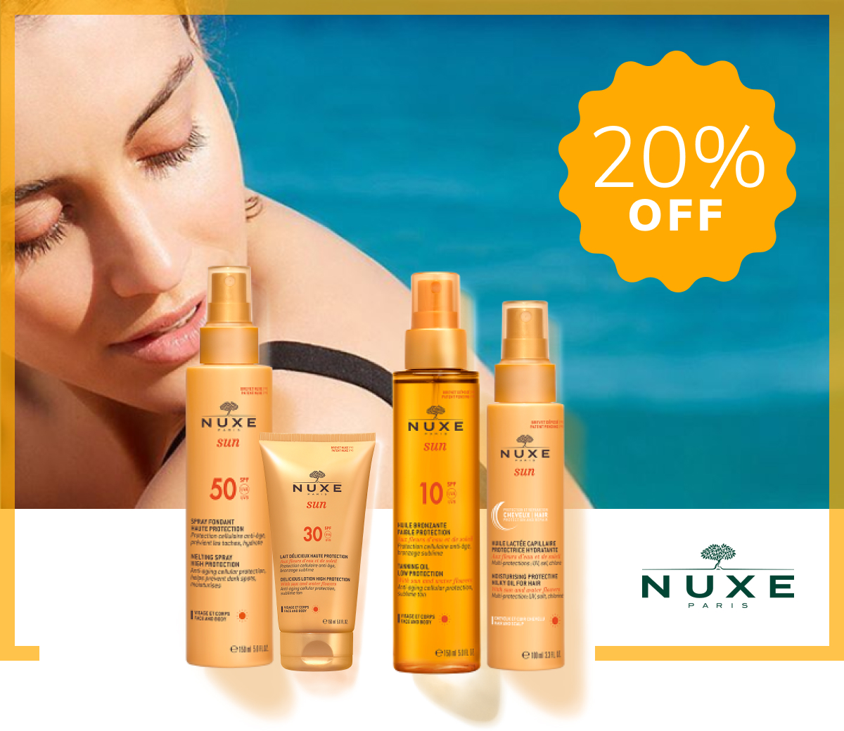 Nuxe Sunscreens