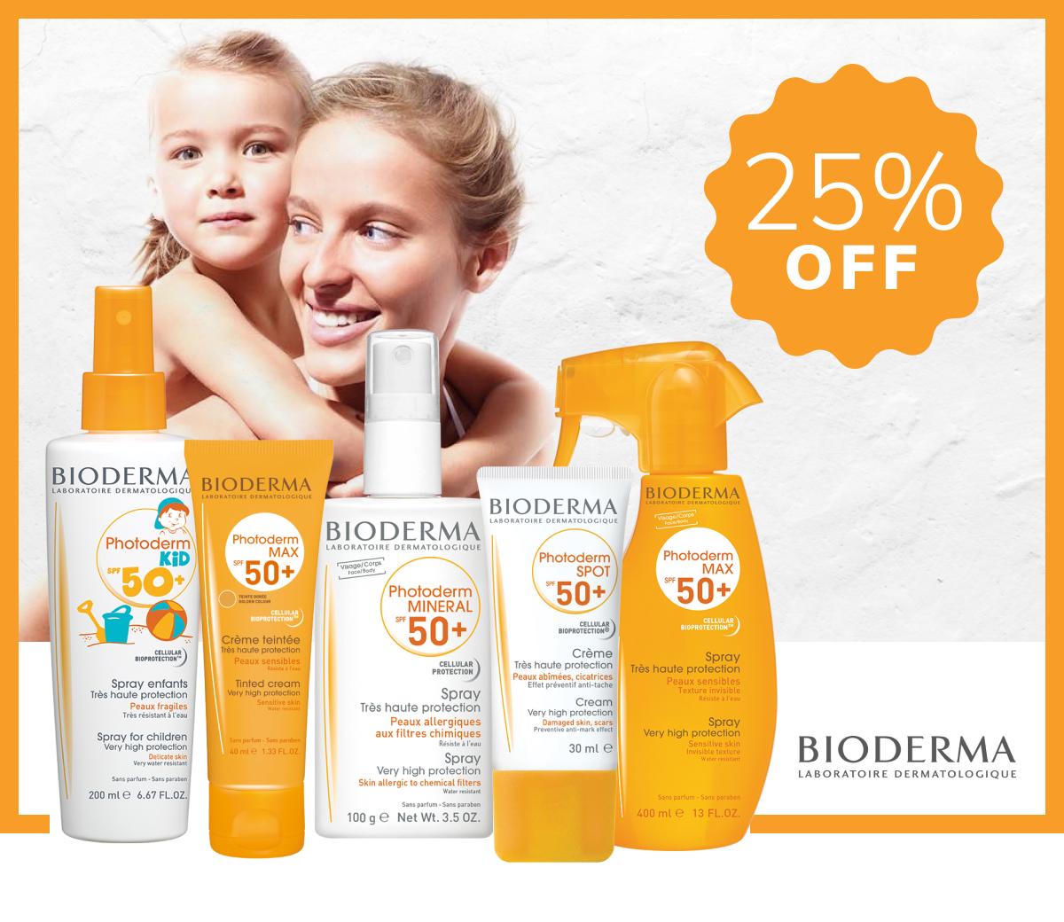 Bioderma Sunscreens
