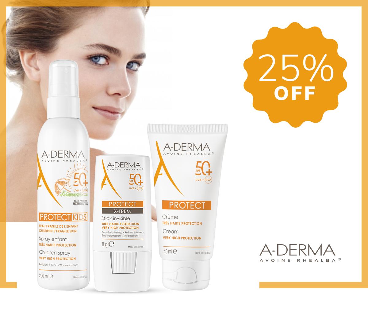 A-Derma Sunscreens