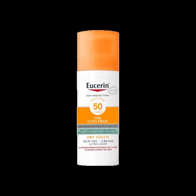 Eucerin Sun Oil Control Gel-Cream Dry Touch SPF50+ 50ml